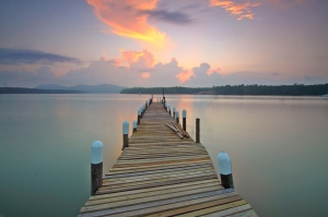 sunsetdock